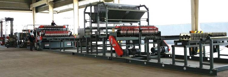 Wire mesh welding machine TJK