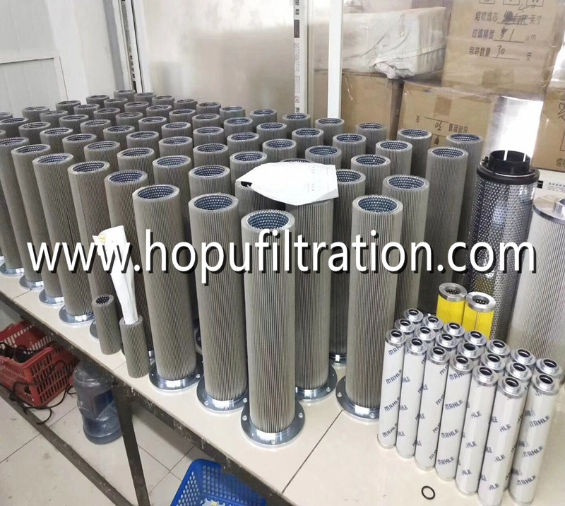 Various Vacuum Oil Purifier Oil Filter Element Parts For Different Stage Filtering Oil Filter Eleme