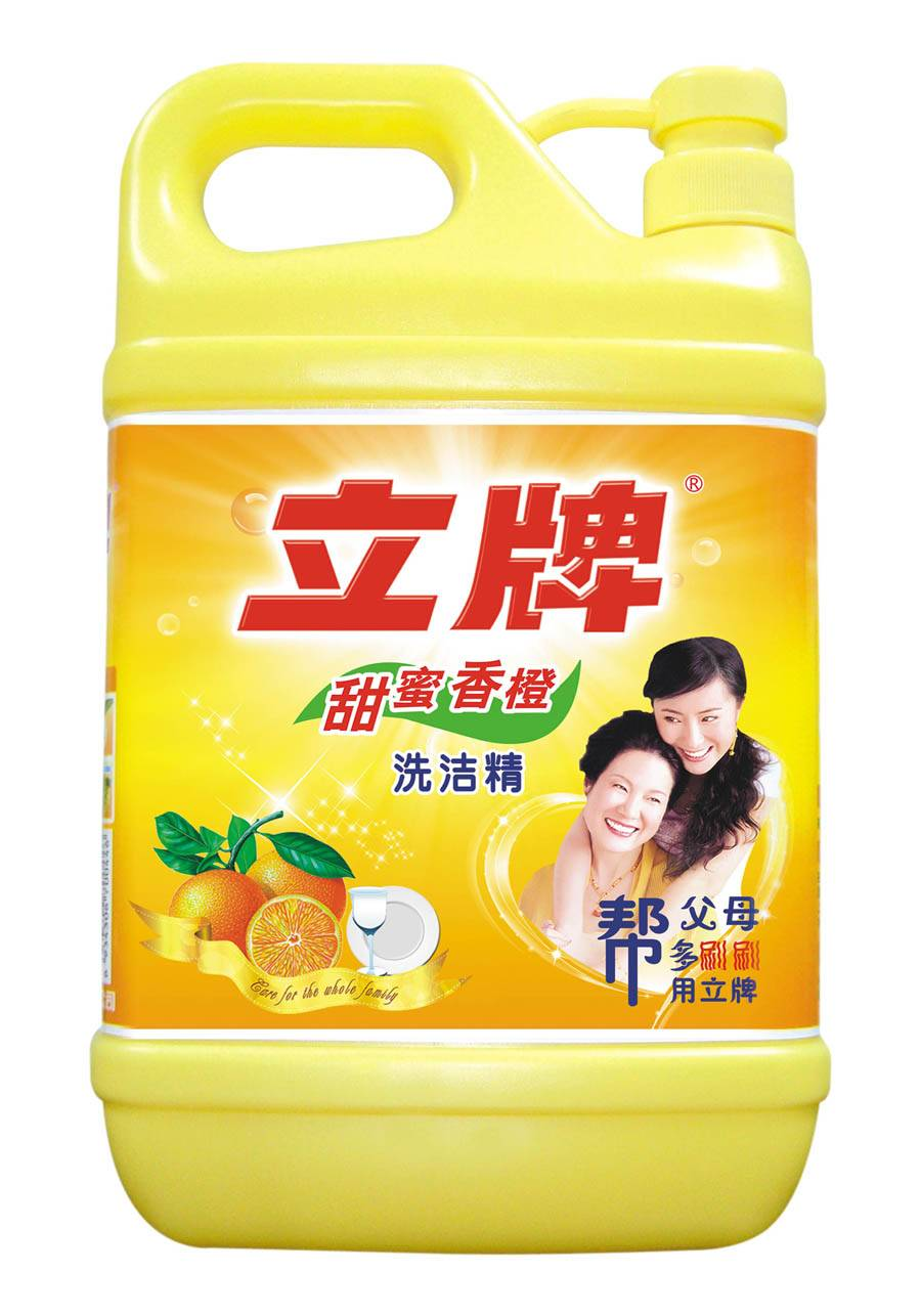 Lipai Dishwashing Detergent, Sweet Orange Smell, OEM Orders are Accepted