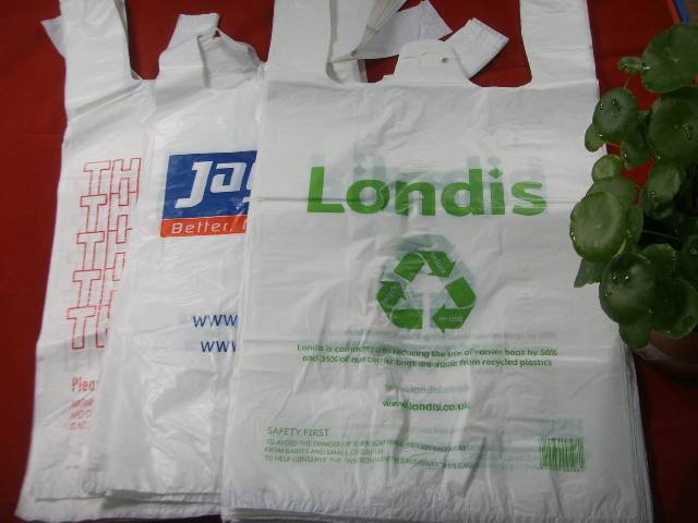 PLASTIC SHOPPING BAG, GARBAGE BAG