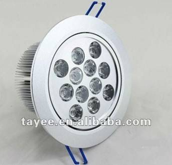 AD17-TH-004 warm white LED ceiling light 12W