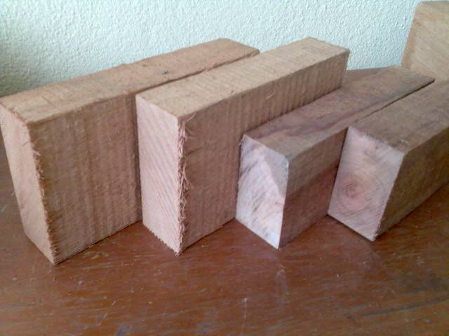 Mix medium sawn timber (O.T)