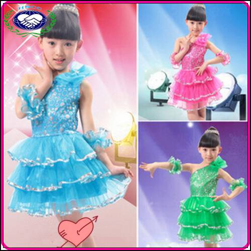 Wholesale cheap girls party latin dress