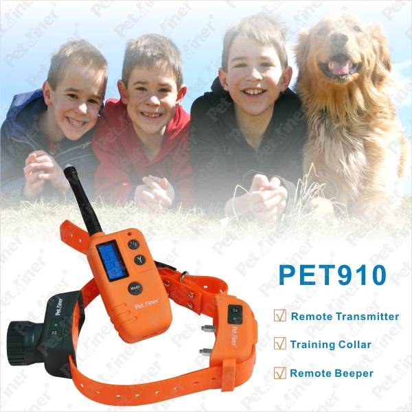 Waterproof and Rechargeable Remote Dog Training Collar