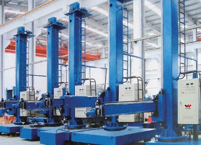 LH Automatic welding manipulator