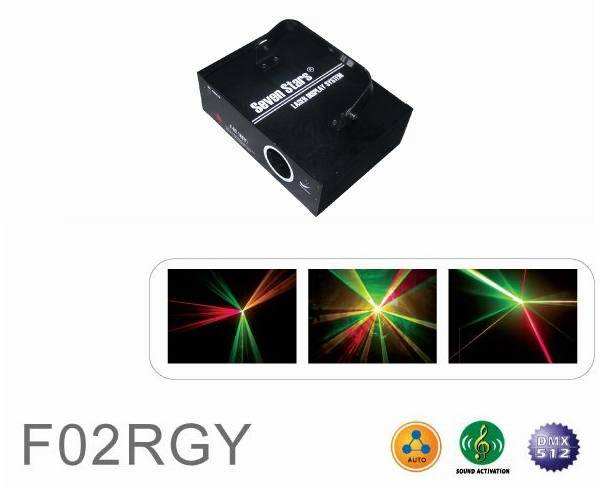 Laser Stage Light - Step Motor Series - F02RGY