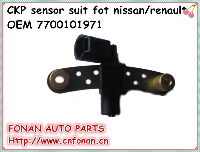 Factory supply brand new crankshaft position sensor for Nissan/Renault OEM 7700101971