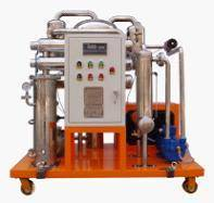 Series TYF Phosphate ester fire-resistant oil Purifier