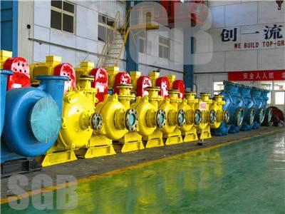CH Series High Efficiency Ash-Flushing Horizontal Centrifugal Pump