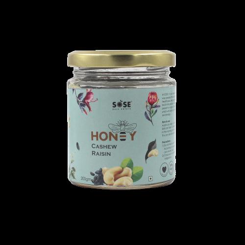 SOSE Honey Cashew and Raisin 200g