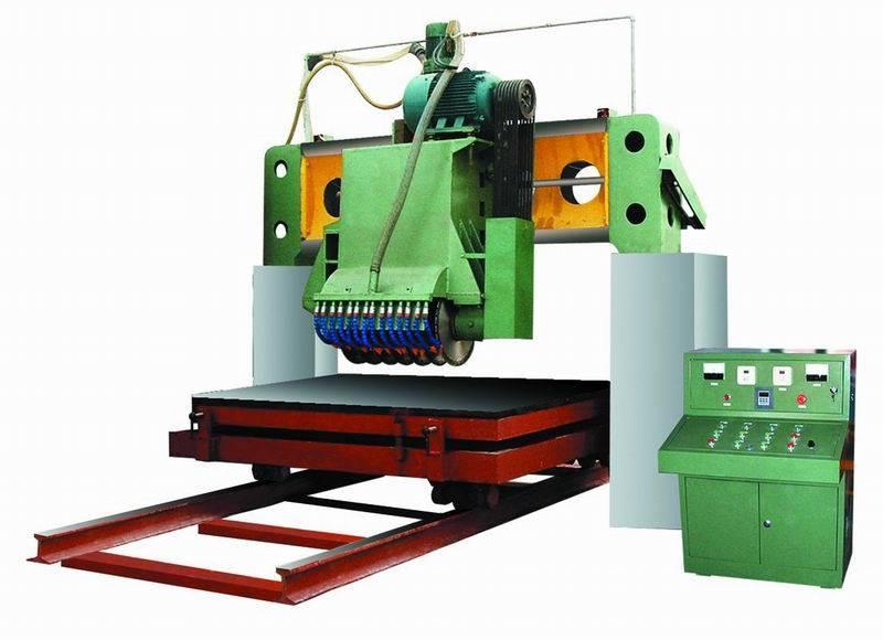 stone machine of multi-blade gantry saw