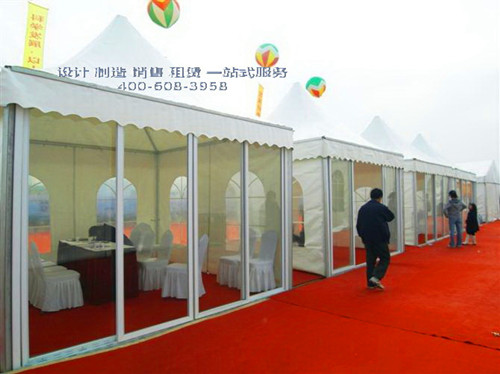 Tent Factory in Guangzhou, China customized exhibition tents on-demand