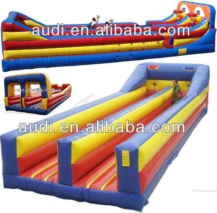 Inflatable Bungee Basketball/bungee run game