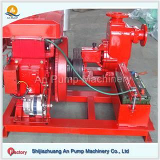 Azw Self Priming Sewage Pump, Diesel Engine Dirty Water Pump