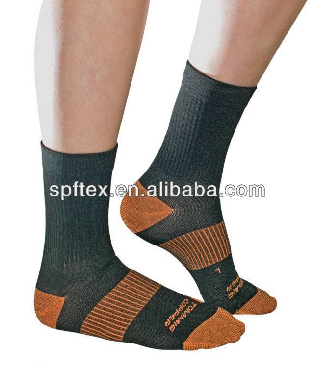 Odor Resistant Copper Sock