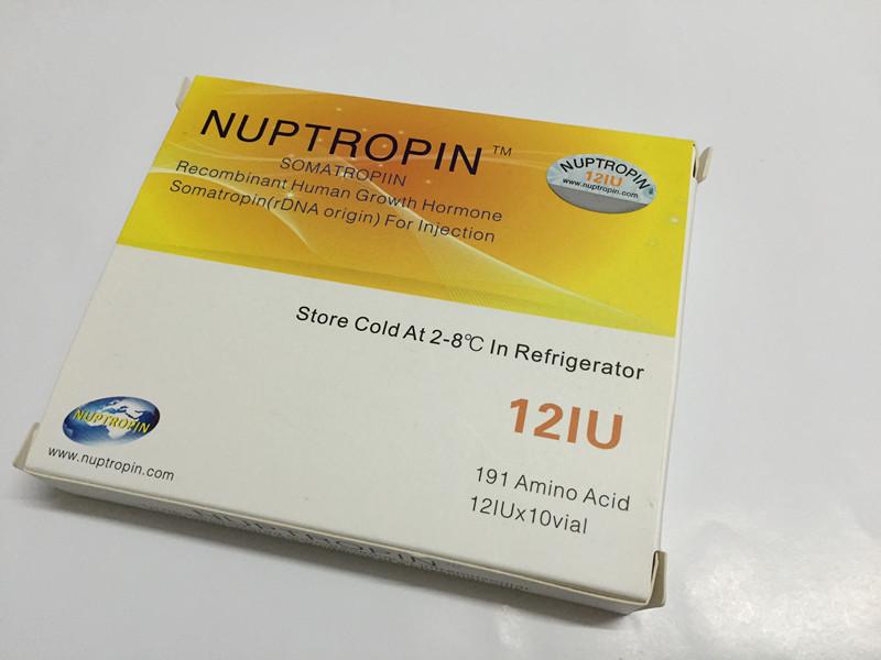 Original Somatropin Nuptropin Anti fake 120 IU for body building and fitness