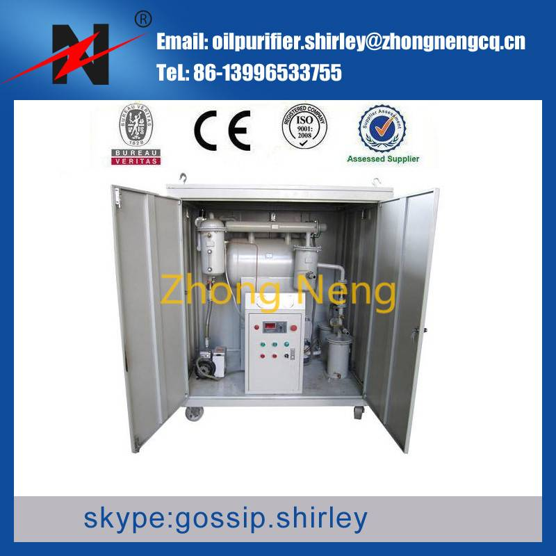 Vacuum Dirty Used Oil Recycling Equipment
