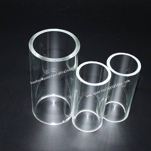 Clear Big Diameter Transparent Glass Tube