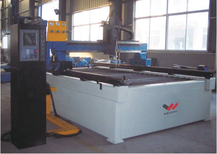 Table type numerical cutting machine