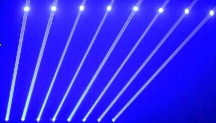 800mW blue head beam DJ laser show stage lighting