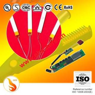MCH heater and alumina heater for hair straightener