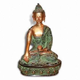 Religious Metal Brass God Buddha Statue