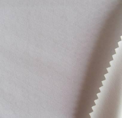 75D 1/2 twill mechanical strectch embossed fabric+white tpu