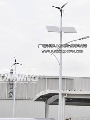 80W Wind Solar street light