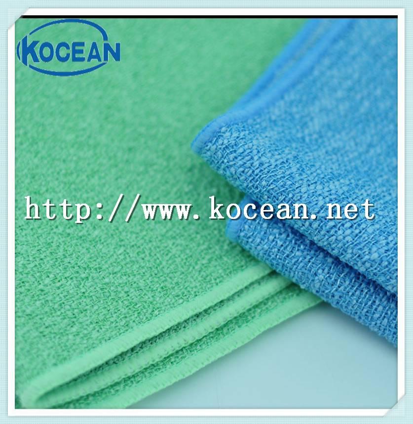Microfiber woven shining cloth