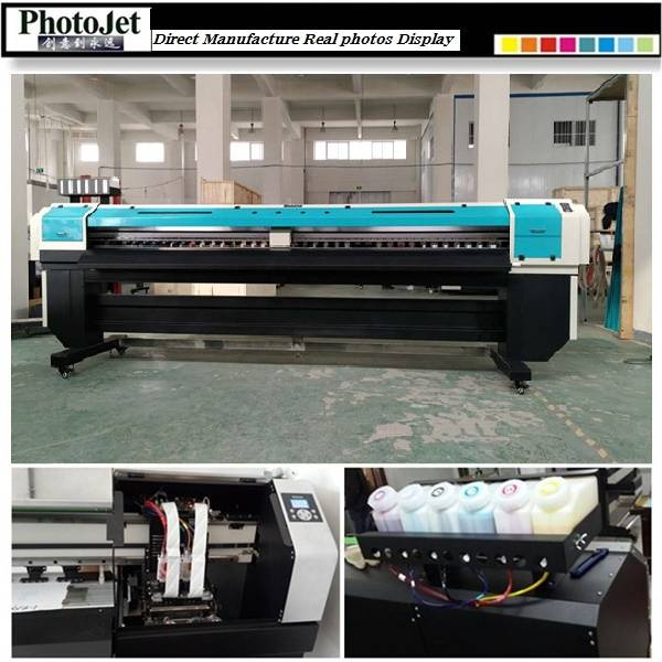 printing 3200mm eco solvent inkjet printer machine