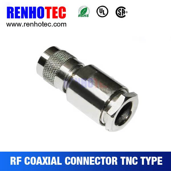 Clamp Type TNC PlugConnector For RG213