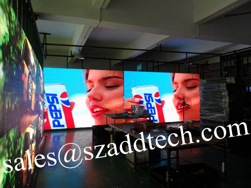 P5mm USA Indoor SMD Full Color LED Display Sign
