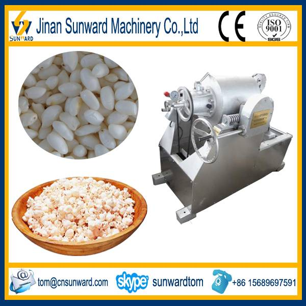 gas puffed rice machine