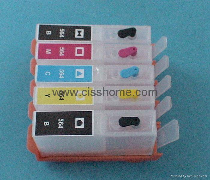 HP564 HP364 Refillable ink cartridge and CISS