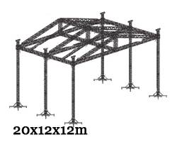 sell stage truss roofing