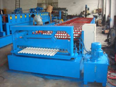 Sell Corrugated Sheets Roll Forming Machine