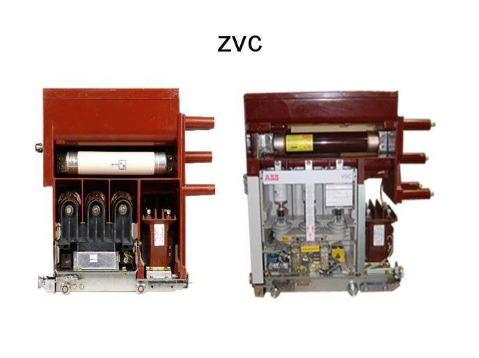 ABB ZVC vacuum contactor with fuse