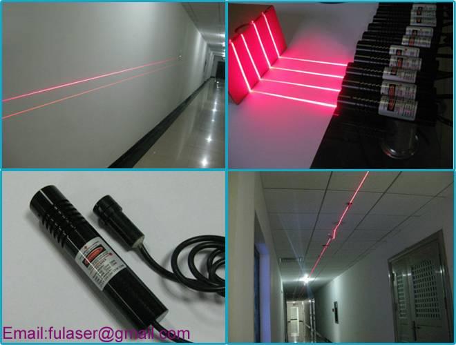 Laser line module high power
