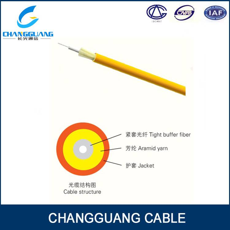 Indoor optic 1 core fiber cable
