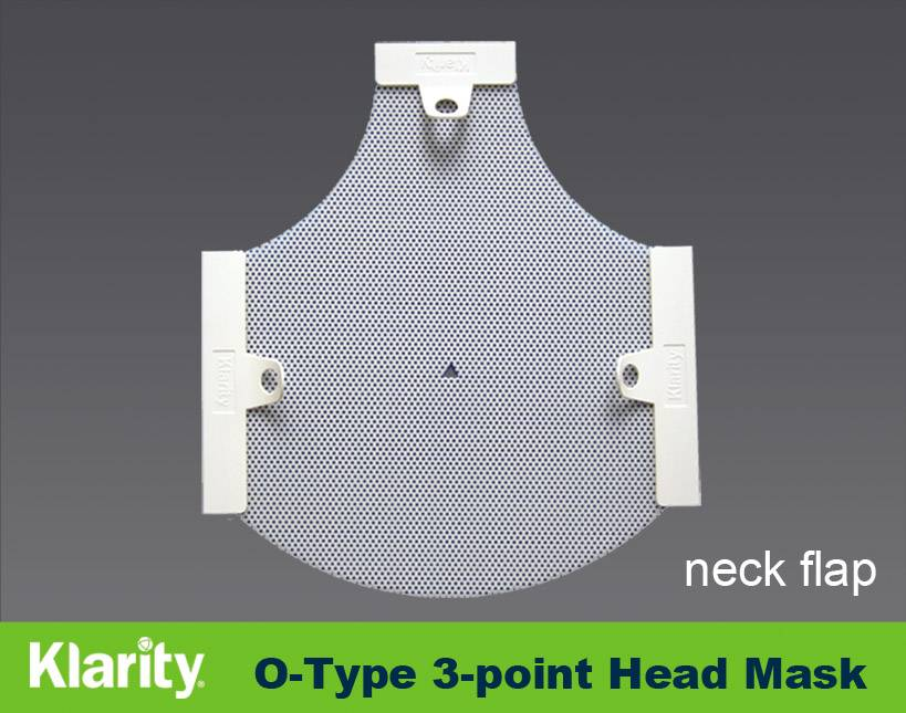 Sell 3-Point Head Mask with neck flap Efficast mask