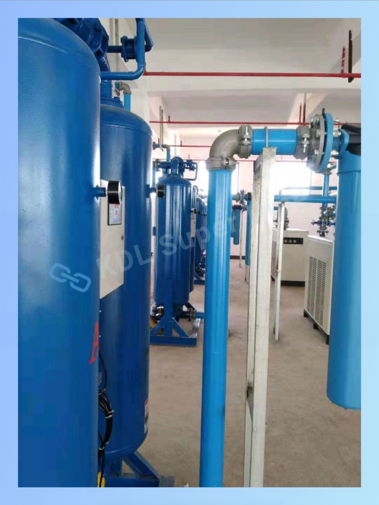 Air compressor pipe for compressed air aluminium piping system