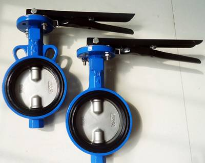 wafer butterfly valve(half shaft without pin)