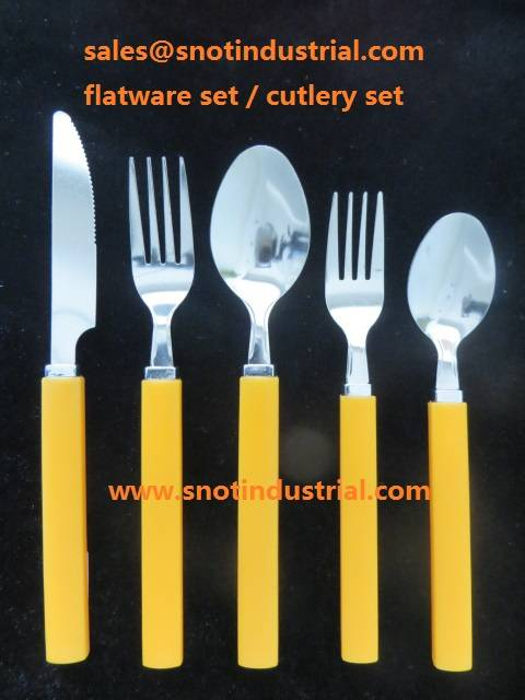 20PCS FLATWARE SET WITH METAL STAND AND PVC BOX PACKING ST6722