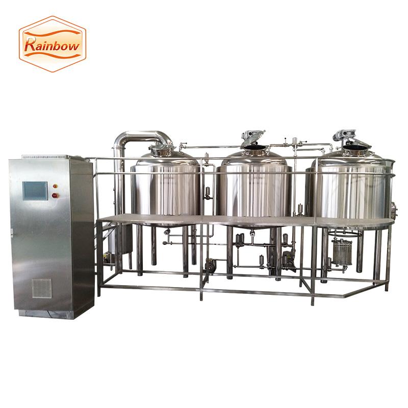 Craft beer brewing equipment bright beer tank stainless steel brewery equipment