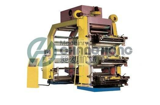 6 Colors High Speed Paper Flexographic Printing Machine (CH886)