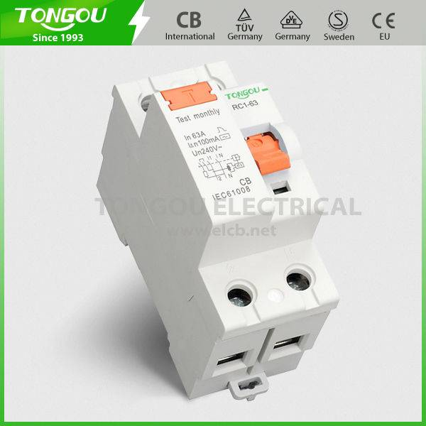 TORC1-63 F360 type Residual Current Circuit Breaker