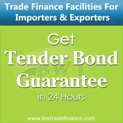 Avail Tender Bond Guarantee for Importers and Exporters