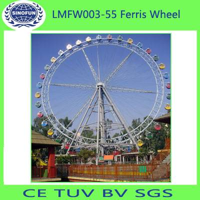 55m Factory Direct Supply Amusement Park Equipment Ferris Wheel