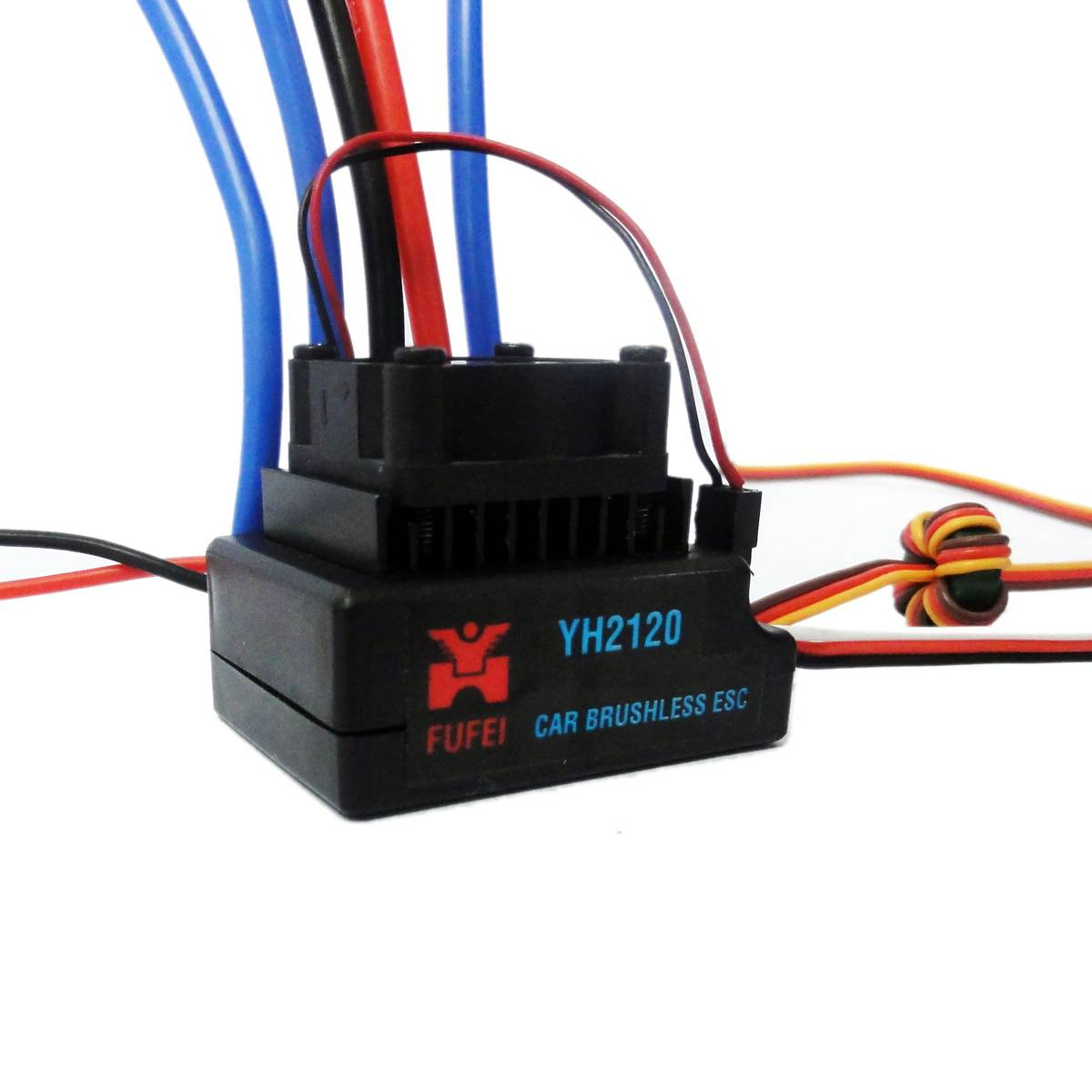 120a brushless esc for rc car for 1/8 scale car