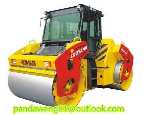 14tons Hydraulic Double Drum Road Roller